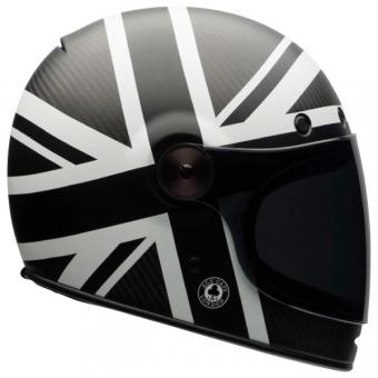 casque-bullitt-bell-carbon-ace-black-jack-mat-white-de-profil-moto-l