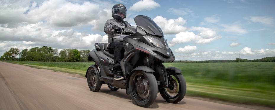 Nouveau QUADRO4 EURO4 le premier scooter S.U.V sur le marché - 9990€