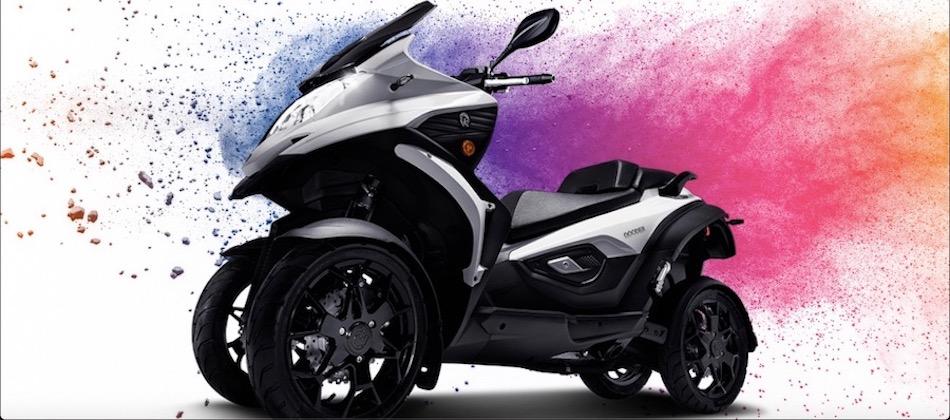 PROMO QUADRO QOODER 400cc le seul scooter S.U.V sur le marché - 9990€